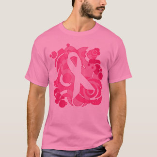 Abstract Pink Ribbon Products T-Shirt