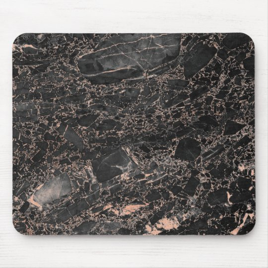 Abstract Pink Rose Gold Blush Gold Black Marble