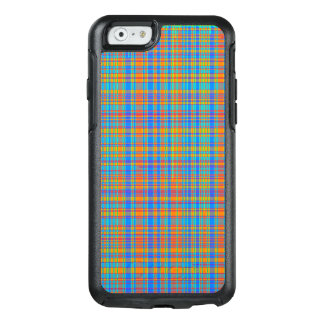 Abstract Plaid Pattern Background OtterBox iPhone 6/6s Case