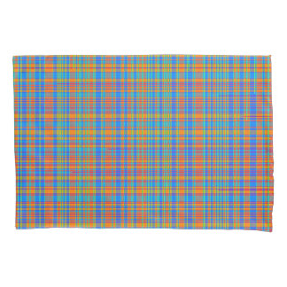 Abstract Plaid Pattern Background Pillowcase
