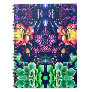 Abstract Plant Life Notebook