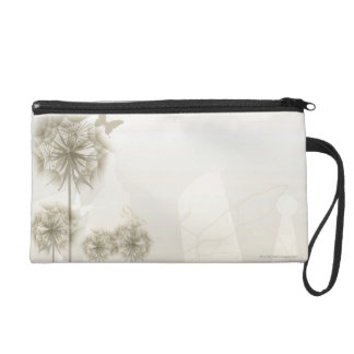Abstract Plants and Butterflies Wristlets