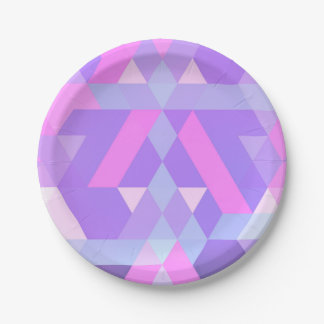 abstract plate pink