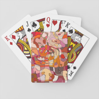 Abstract playing card