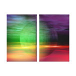 Abstract Poison Wrapped Canvas