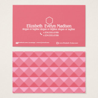 Abstract Polygon Style 0002 Business Card