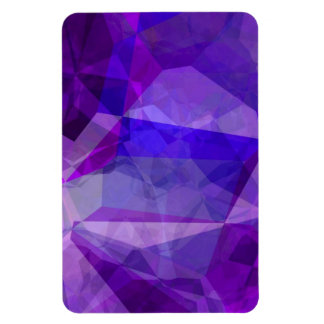 Abstract Polygons 147 Rectangular Photo Magnet