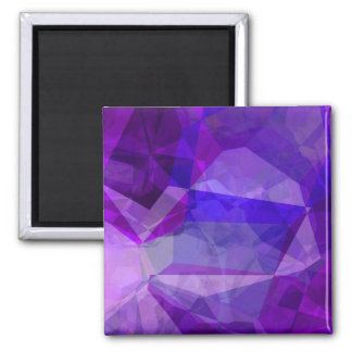 Abstract Polygons 147 Square Magnet