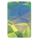 Abstract Polygons 187 Vinyl Magnet