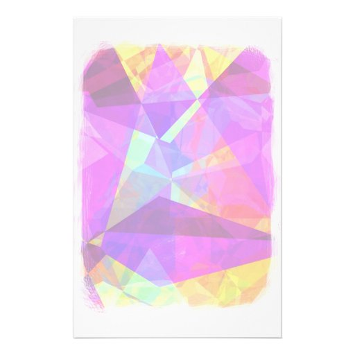 Abstract Polygons 241 Customized Stationery