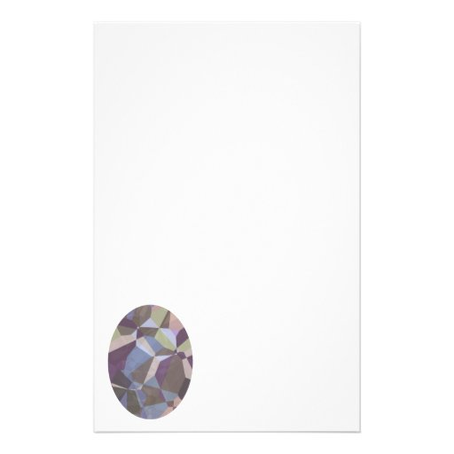 Abstract Polygons 245 Customised Stationery