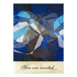 Abstract Polygons 253 Personalized Invitations
