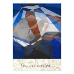 Abstract Polygons 255 Personalised Invitation