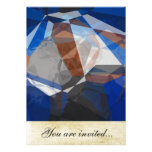 Abstract Polygons 255 Personalized Invitation