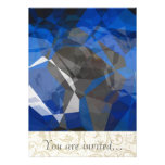Abstract Polygons 256 Personalised Invitation
