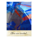 Abstract Polygons 260 Personalized Invite