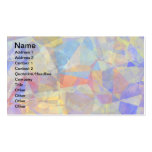 Abstract Polygons 36 Pack Of Standard Business Cards