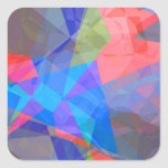 Abstract Polygons 42 Stickers