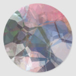 Abstract Polygons 85 Round Stickers
