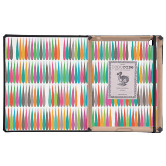 Abstract Pop art multicolor drops iPad Cases