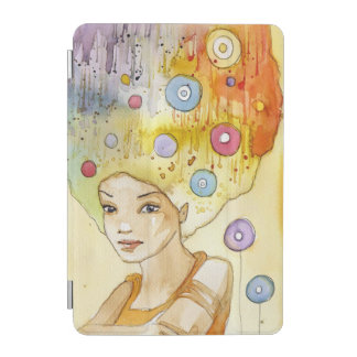 Abstract portrait iPad mini cover