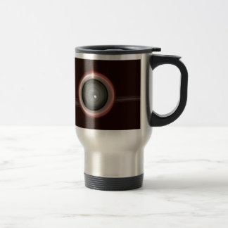 Abstract Power Switch Background Mugs