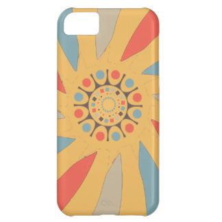 Abstract Propeller Blades On Beeswax Orange Yellow iPhone 5C Case