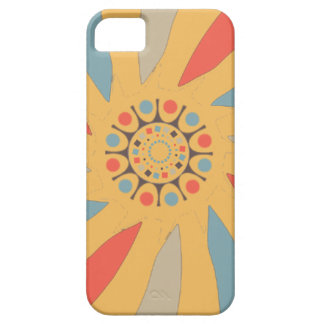 Abstract Propeller Blades On Beeswax Orange Yellow iPhone 5 Cases