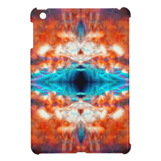 Abstract psychedelic pattern iPad mini case