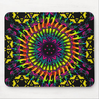 Abstract / Psychedelic Spiral Vortex Mouse Mat