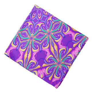 Abstract Purple Background Bandana