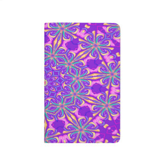 Abstract Purple Background Journal