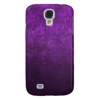 Abstract Purple Background Or Paper With Bright Galaxy S4 Case
