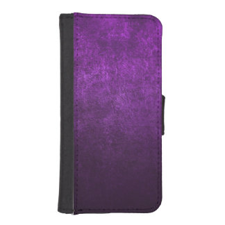 Abstract Purple Background Or Paper With Bright iPhone SE/5/5s Wallet Case