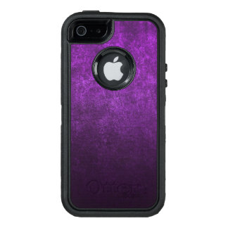 Abstract Purple Background Or Paper With Bright OtterBox Defender iPhone Case