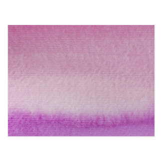 Abstract Purple Ombre Watercolor Wash Postcard