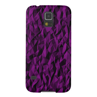 Abstract purple pattern case for galaxy s5