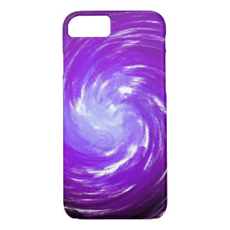 Abstract Purple Twist Art Background #2 iPhone 7 Case