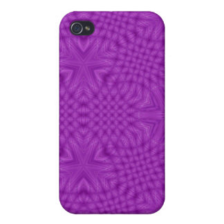 Abstract purple wood pattern case for the iPhone 4