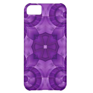 Abstract Purple Wood Pattern iPhone 5C Case