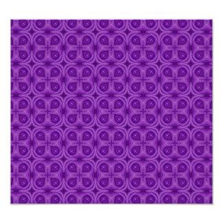 Abstract Purple Wood Pattern Photo Print