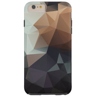 Abstract Pyramid Pattern Tough iPhone 6 Plus Case
