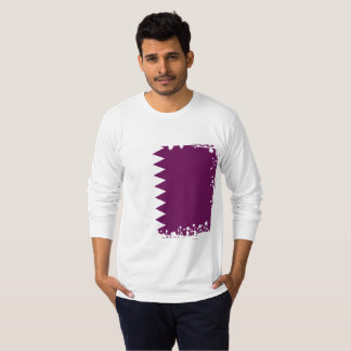 Abstract Qatar Flag, Qatari Colors Shirt