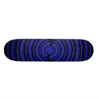 Abstract Radial Design: Skateboard
