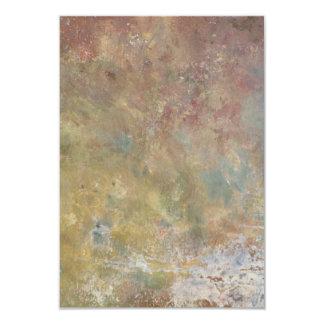 Abstract Rainbow 9 Cm X 13 Cm Invitation Card