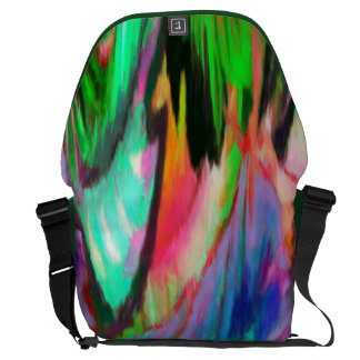 Abstract Rainbow Commuter Bags