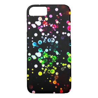 Abstract Rainbow Glitter Cosmos iPhone 7 Case