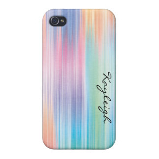 Abstract Rainbow iPhone 4 Covers