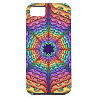 Abstract Rainbow Kaleidoscope iPhone 5 Cases
