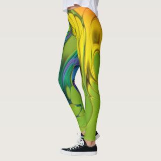 Abstract Rainbow Leggings